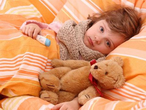 ребенок и грипп