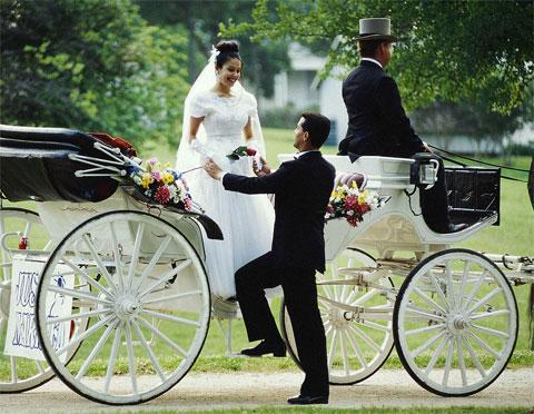 в брак