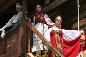 История русского свадебного наряда