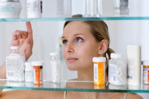 в аптечке