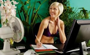 Как выдержать жаркое лето в офисе
