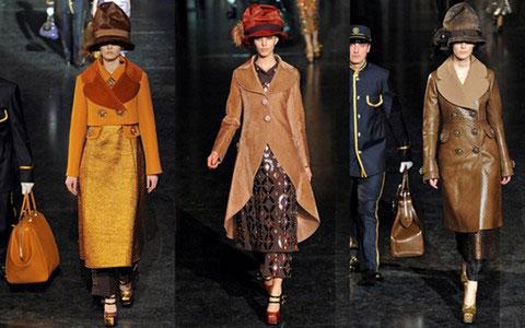 женская коллекция Louis Vuitton