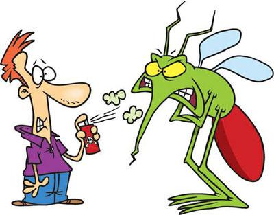 укусы комаров