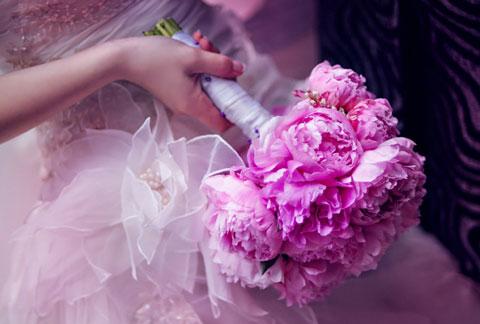 летнего свадебного букета