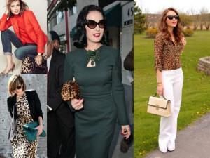 Леопардовый принт - вечный тренд в мире моды