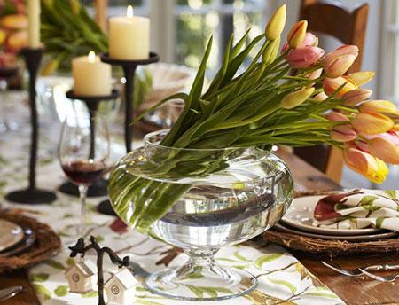 цветы для праздничного стола