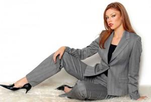 Деловой стиль в одежде для полных женщин