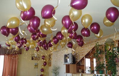 воздушными шарами