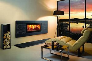 Альтернативой дровяному камину является современный электрокамин