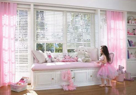 детской комнаты для девочки