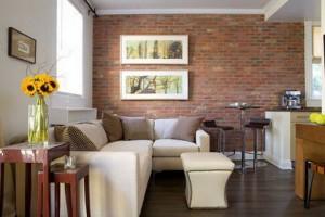 Урбанистический стиль в интерьере помещения